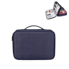 双层多功能防水数码收纳包 耳机数据线鼠标平板整理包 与家庭收纳有关的礼品