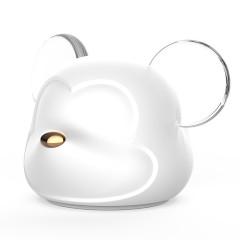 金鼠纳福创意小夜灯 小萌鼠拍拍灯 硅胶七彩渐变充电氛围灯 创意礼品