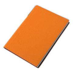 A6简约商务笔记本 变色皮料封面 防水耐磨记事本 可定制公司logo