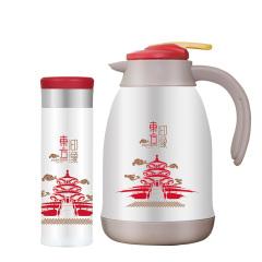 JOHN BOSS(英国)东方印象 中国风杯壶套装(HHBC15040-1W)400ML+1500ML 精美礼品