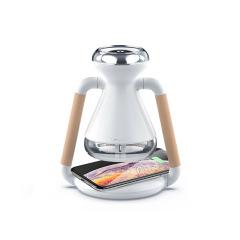 创意时漏加湿器手机无线充多能加湿器 创意家居礼品
