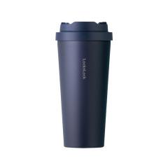 乐扣乐扣(Lock&Lock)遇见元气保温杯 316不锈钢一键按压弹盖咖啡杯550ML 大容量水杯