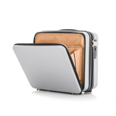 创意前开盖16寸小行李箱 商务差旅手提箱收纳箱 公司年终奖品