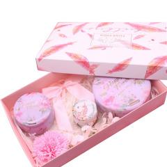 粉红创意花茶伴手礼 文艺少女心礼盒 公司送员工生日礼品