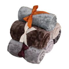 纯色办公室小毛毯 午休毯披肩 活动礼品大全