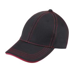 时尚棒球帽定制 绗线棒球帽(夹三文)定做 创新展会小礼品