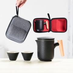 旅行戶外功夫茶具套裝 一壺二杯 給客戶送禮送什么好