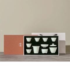 商务高档茶具礼盒套装 一壶六杯 送什么给客户比较好