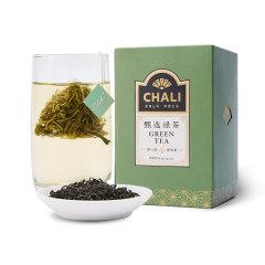 【甄選綠茶】chali 30包裸包 原葉三角袋茶包 送客戶的精美禮品100元左右