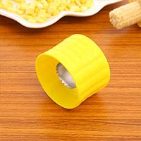 不锈钢玉米刨 玉米粒分离器--黄色 批量小礼品