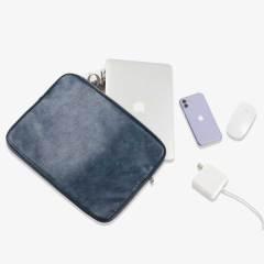 纯色数码收纳包简约便携笔记本内胆包旅行时尚电脑包    公司活动礼品定制