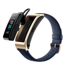 【商務版】 華為(HUAWEI)B5藍牙耳機智能手環 心率監測彩屏觸控運動手環 高端大氣創意禮品