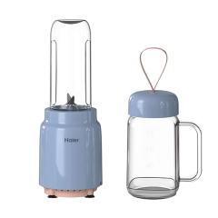 海尔(Haier)独立两杯多功能料理机 小巧随身果汁杯榨汁杯 公司活动奖品买什么好