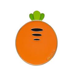 胡萝卜金属随身小镜子 便携创意  活动伴手礼