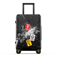 地平线8号 周杰伦联名款20寸拉杆箱 潮流个性出行差旅行李箱 员工抽奖用什么奖品