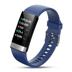 心率血压血氧PPG+ECG心电监测智能手环 消息提醒遥控拍照手环手表 企业礼品定制 数码电子礼品