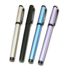 商务金属笔杆铱金笔 抽拉式钢笔签字笔 会议商务礼品