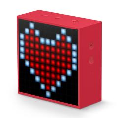 【黑科技】Timebox mini像素藍牙音箱 簡約多功能無線藍牙音箱 APP云支持 智能鬧鐘 it公司禮品