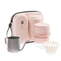 咖啡器具手冲壶套装组合 家用滴漏式便携旅行随行杯套装