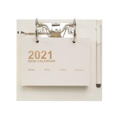 2021创意翻页日历 365天倒计时台历 日式简约商务年历定制