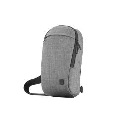瑞动(SWISSMOBILITY)时尚双色布料单肩背包 商务实用礼品