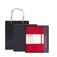 创意笔记本套装 LOGO可定制做商务活动礼品 高端旅行本记事本礼盒 商务礼品定制