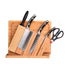 IBOH 鋒睿廚房刀具套裝 時尚廚具七件套 帶砧板廚房套裝 比賽獎品