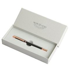 英雄(Hero) 玫瑰金黑白铱金钢笔 单只装钢笔礼盒 办公 学生 送礼