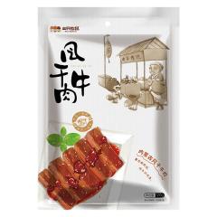 【京东伙伴计划—仅限积分兑换】三只松鼠 休闲零食 风干牛肉120g/袋 小吃特产内蒙古手撕牛肉干