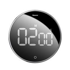Baseus 简约创意电子计时闹钟旋转计时器 新奇实用数码礼品