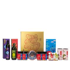 年味·幸福里A 节日庆典礼盒企业促销礼品食品大礼包套装 年会奖品清单