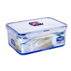 乐扣乐扣(Lock&Lock)塑料保鲜盒 微波炉饭盒 便当盒 密封盒 大容量储物盒2.3L HPL825 创意家居用品