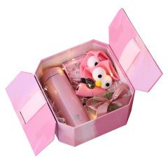 陌上花系列伴手礼 粉色少女心礼盒  年会活动创意礼品有哪些