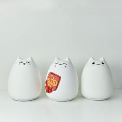 BIG CAT 可爱大猫硅胶灯  逗趣玩耍灯 USB七彩氛围灯