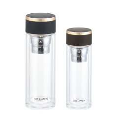 泡茶茶水分离杯套装   实用设计 商务会议礼品