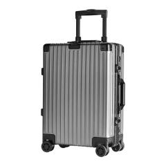 ZIPPO 铝镁合金简约商务风拉杆箱 20寸可登机行李箱 公司活动礼品