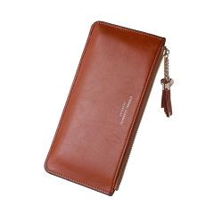 长款钱包手机包超薄亮皮甜美pu钱夹  礼品定制 logo