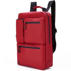 法国乐上(LEXON)MAP系列时尚双肩背包 14寸防泼水多口袋休闲差旅双肩包 商务礼品