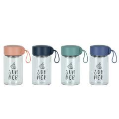 提绳不锈钢茶隔玻璃杯 时尚便携 答谢奖品有哪些