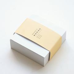 便捷创意牛皮象牙白方块便签纸 纸砖便签本400张 创意用具