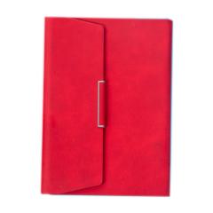 8.5寸活页夹日记本 耐用PU皮商务笔记本 定制笔记本礼品 logo定制