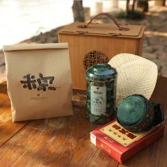 2021端午节粽子礼盒 茶叶粽子蒲扇组合套装礼盒 端午节送什么