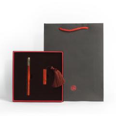 【文秀】原创设计礼盒两件套 红木笔+32g优盘套装 高端商务礼品