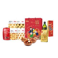 【百草味】年的味道坚果零食年货大礼包B2 节庆礼品 员工福利发什么