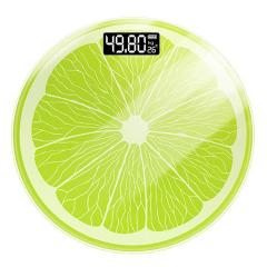 青柠檬电子体重秤 钢化玻璃安全防爆 公司抽奖礼品推荐