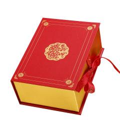 春节礼物盒子中国风 包装盒年年有福 红色喜庆礼物盒幸福年年礼品盒包装盒 春节送什么礼品给客户