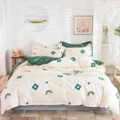【彩虹】全棉印花床上四件套 高支高密纯棉床上套件 1.5米/1.8米/2米