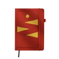 创意拆卸插袋款记事本 PU皮复古商务笔记本 创意办公用品 可定制logo