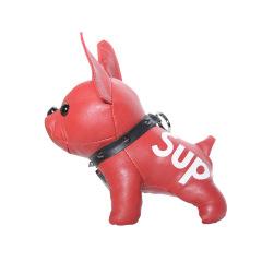 創意斗牛犬充電寶 可愛法斗移動電源 時尚小狗掛件大容量充電寶8800毫安 年會小獎品有哪些