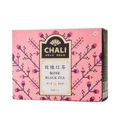 【玫瑰红茶】CHALI 12原味袋 红茶+重瓣玫瑰套装 适合送客户的小礼品